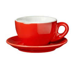 Tazas Latte 260 ml Nuova Point Colores - Set de 2