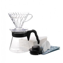 Coffee Server Set - Kit completo V60 acrílico 02 transparente