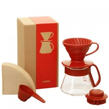 Coffee Server Set - Kit completo V60 cerámico Rojo 01