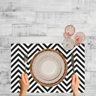 Set de 6 Individuales / Chevron