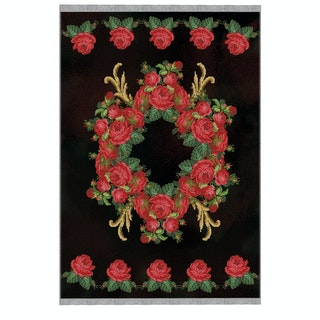 Alfombra Chenille / Vintage Roses 016