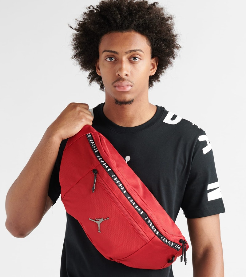JORDAN OVERSIZED TAPING CROSSBODY BAG