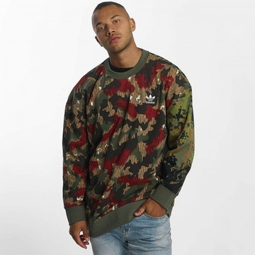 "PHARRELL HU HIKING CREWNECK ""CAMO"""