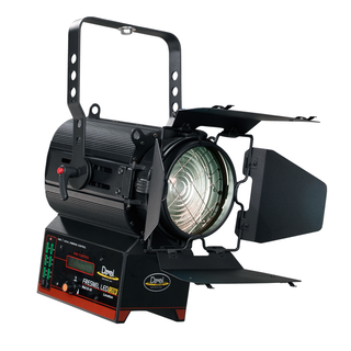 FRESNEL LED COMPACT 120W DMX