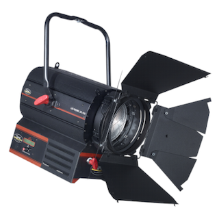 STUDIO FRESNEL LED 400W LENTE 175MM DIAM