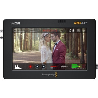 Blackmagic Design Video Assist Monitor de grabación de 5