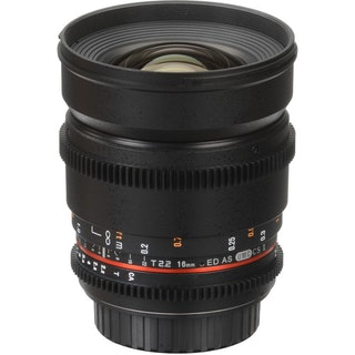 Cine DS 16mm T2.2  Cine Lens for MFT