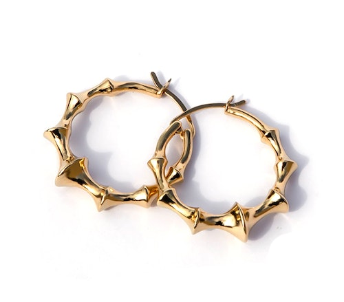 Arracadas Hoops oro