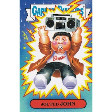 Garbage Pail Kids '80s Movies Card (Jolted John)