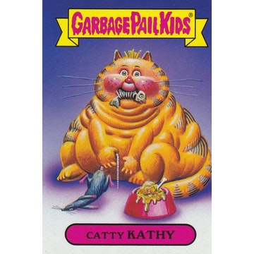 Garbage Pail Kids '80s Classic Card (Catty Kathy)