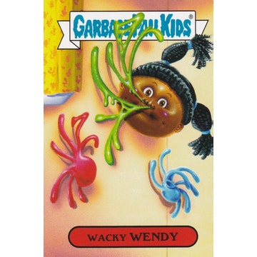 Garbage Pail Kids '80s Toys Card (Wacky Wendy)