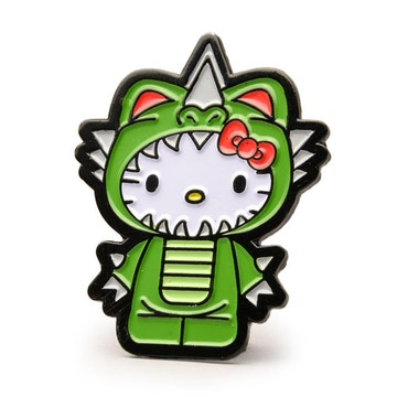 "Hello Kitty Time to Shine 1.5"" Pin (Kaiju)"