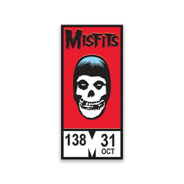 Yesterdays Enamel Pin (Misfits Comic Fiend SDCC 2019)
