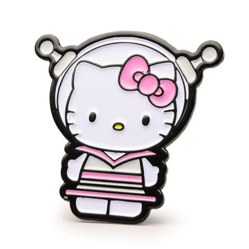 "Hello Kitty Time to Shine 1.5"" Pin (Sci Fi)"