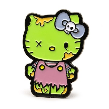 "Hello Kitty Time to Shine 1.5"" Pin (Zombie)"