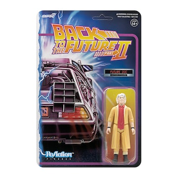 Back to the Future 2 ReAction Figure Wave 1 - Doc Brown Future