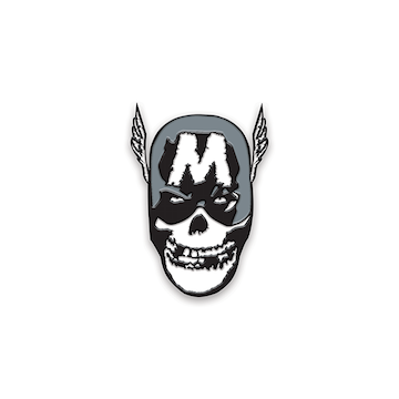 Yesterdays Enamel Pin (Misfits Super Fiend SDCC 2019)