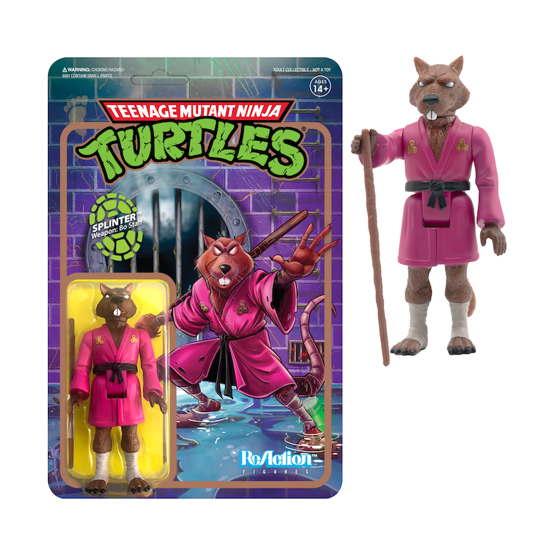 Teenage Mutant Ninja Turtles ReAction Figure Wave 2 - Splinter
