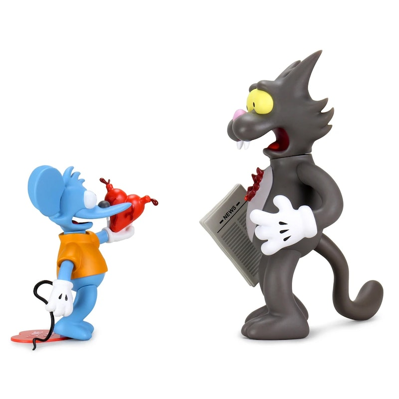 The Simpsons Itchy & Scratchy 8