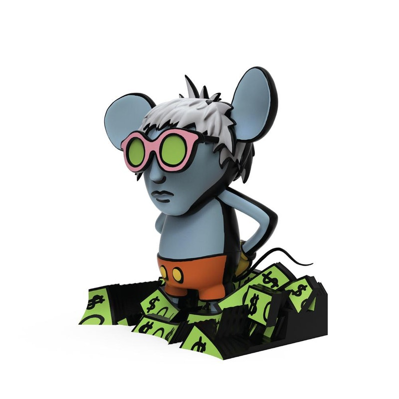 Keith Haring Andy Mouse 8
