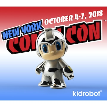 Megaman Silver Chrome 30th Anniversary (NYCC Exclusive)