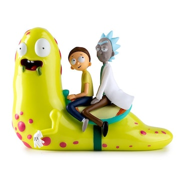 Rick & Morty Slippery Stairs 7