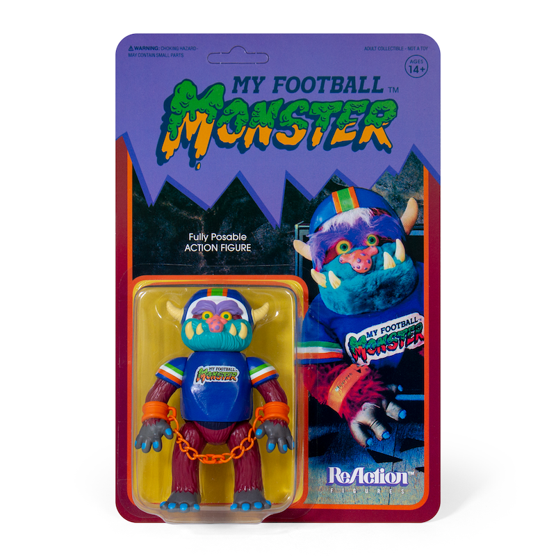 My Pet Monster ReAction Figure - Football Monster