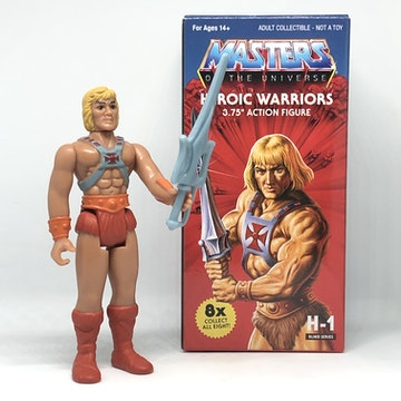 Masters of the Universe ReAction Figure - He Man