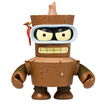 Futurama Wooden Bender 7