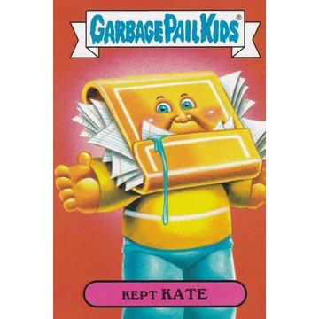 Garbage Pail Kids '80s Culture Card (Kept Kate)