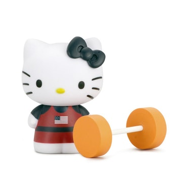 "Hello Kitty x Team USA 3"" Figure (Weightlifter)"