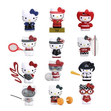 "Hello Kitty x Team USA 3"" Figure (Complete Set)"