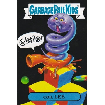 Garbage Pail Kids '80s Video Games Card (Coil Lee)
