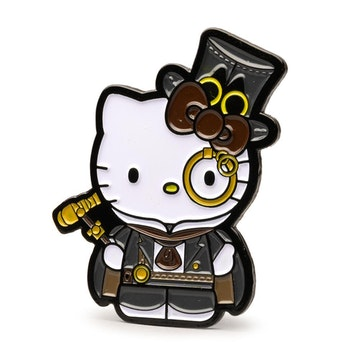 "Hello Kitty Time to Shine 1.5"" Pin (Steam Punk)"