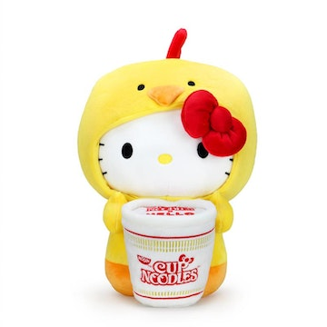 [PREVENTA] Noodles X Hello Kitty Chicken Cup Cosplay 16