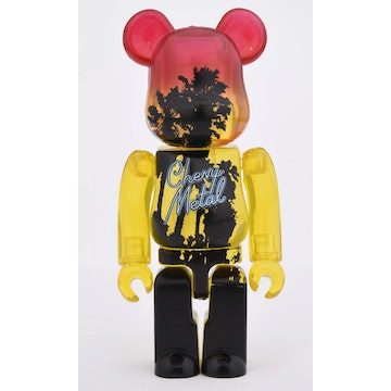 100% Bearbrick Chevy Metal (DCON 2018 Exclusive)