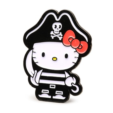 "Hello Kitty Time to Shine 1.5"" Pin (Pirate)"
