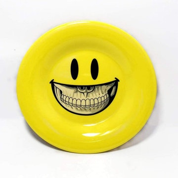 Grin Small Plate by Ron English