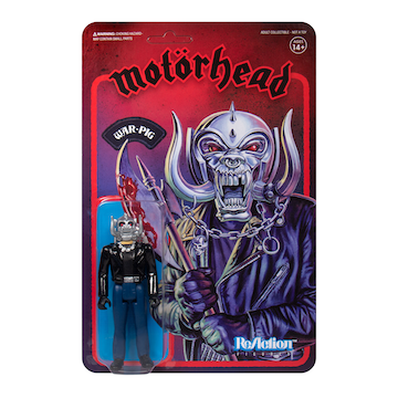 Motorhead Warpig ReAction Figure