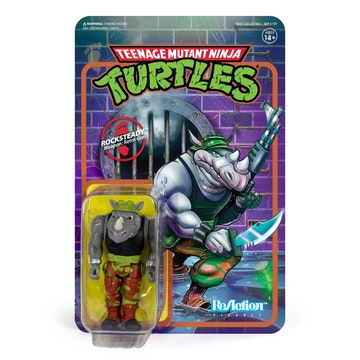 Teenage Mutant Ninja Turtles ReAction Figure - Rocksteady