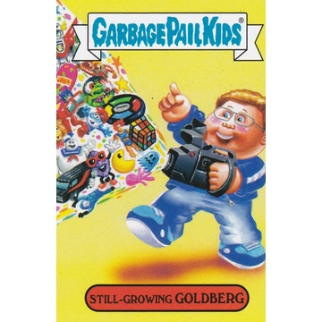 Garbage Pail Kids '80s Sitcom Card (Still-Growing Goldberg)