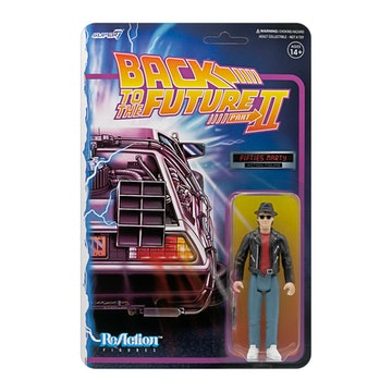 [ABONO] Back to the Future 2 ReAction Figure Wave 1 - Marty McFly 1950s