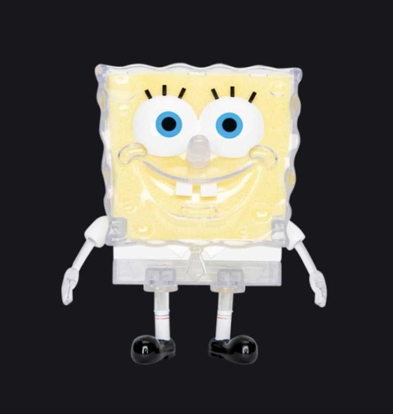 Nickelodeon Sea Sponge Spongebob GID 8