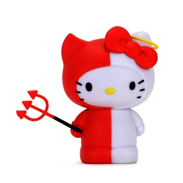 "Hello Kitty Time to Shine 3"" Figure (Angel/Devil)"