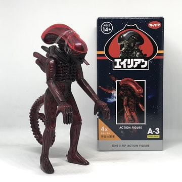 Alien ReAction Figure - Red Xenomorph (Wave 3)