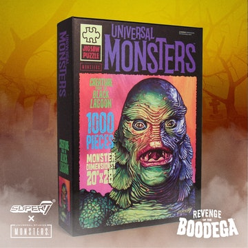 Universal Monsters Puzzle- Creature