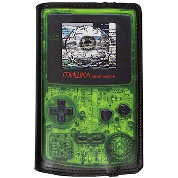 Keep Watch Gameboy Console Wallet/Passport Holder