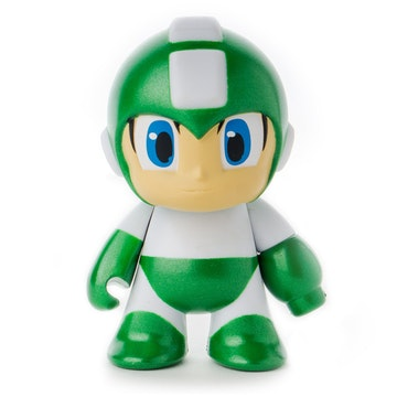 Megaman Metallic Green 3