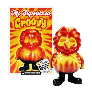 Ron English Groovy MC Super Sized Mini PopLife (Convention Exclusive)