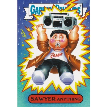 Garbage Pail Kids '80s Movies Card (Sawyer Anything)